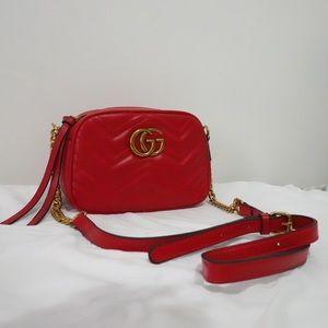 Handbags - Gucci 9 x 6 x 3 Red